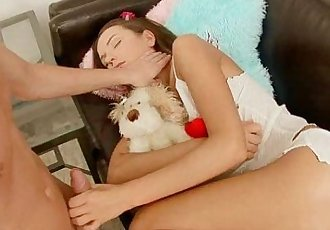 Anal teen angel Nataly Gold