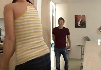 Teen spanked and fuckedHD+
