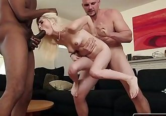2 Black Monster Cocks Vs. Tiny Teen Spinner Piper PerriHD