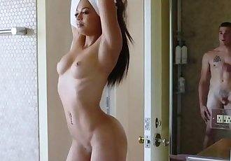 Perfect Ass Teen Karissa Kane has Sex with Friend and gets Cream pie