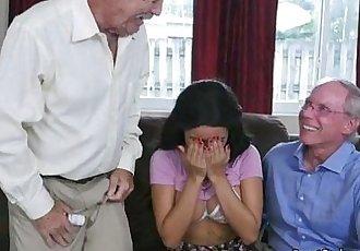 Broke Teen Aaliyah Hadid Gets Fondled By Old Men