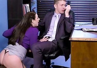 Big Tits at Work My Slutty Secretary scene starring Angela White and Markus DupreeHD