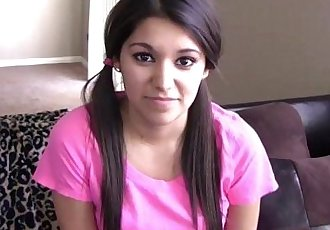 Petite teen amateur doggystyled
