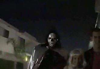 Horny Halloween sex