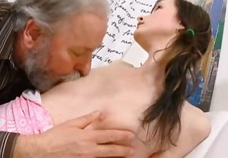 Old Goes YoungJenya loves getting fucked by naughty old man