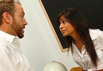 Teen Slut Sucks Up To Her TeacherHD