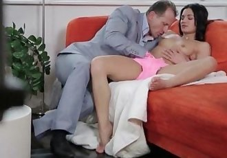 Teen seducing mature guy