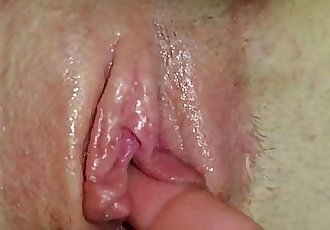 Creamy Teen Pussy Closeup - 1 min 27 sec