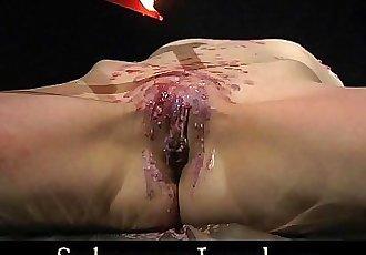 Hardcore brunette brutal spanked and fucked - 6 min HD