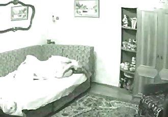 My cute cousin masturbates. Hidden cam caught her - 6 min