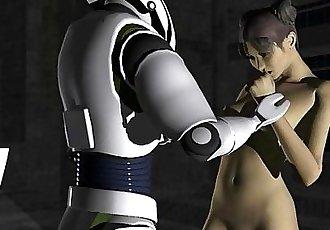 3D Animation: Robot Captive - 2 min
