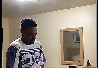 Og fresh out first day home after 4 years in prison running a train on my bitch with me 81 sec 720p