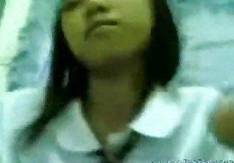 Estudyante Iniyot Habang walang tao sa Bahay - www.kanortube.com - 3 min