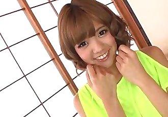 Sexy toy porn along insolent Asian doll Kana Aono - 12 min