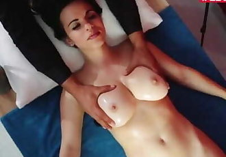 LETSDOEIT - Intense Titty Fuck and Worship With Busty Teen Nekane