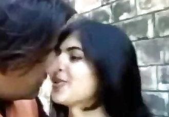 Desi indian cute girl fucked outdoor