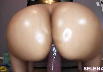 Your best Friend's Sister: BBC Stretches Creamy Latina Pussy - SelenaRyan