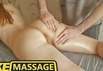 Fake Massage. got Turned on by the Wet Pussy of this Beauty and Fucked her Hard. Trailer