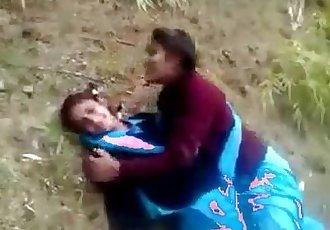 indian desi schoolgirl lesbian outdore :