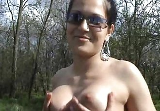 18-years old horny gipsy girl