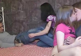 Hot casual two-on-two teen fuckHD
