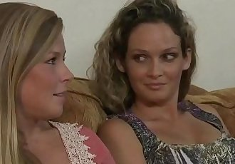 Scarlet Red and Kirsten Lee lesbian adventureHD