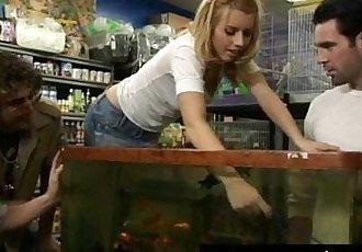 taw-The-Little-Slut-at-the-Pet-Store clip0