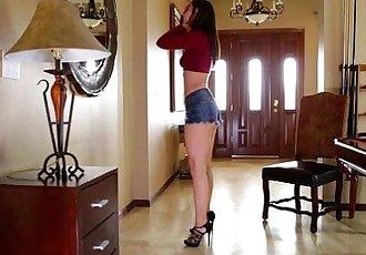 Trembling orgasm for 18 yr old Aidra FoxHD