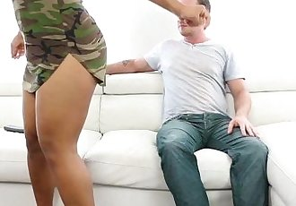 Dani Dolce Sucks and Fucking Large Dick