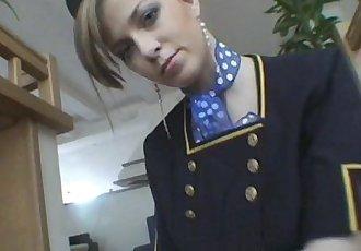 Abigaile Jonhson StewardessHD