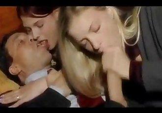 Italian Latina Teen babes Threesome Erotic sex