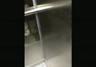 Teen Sucks Cock In An Elevator