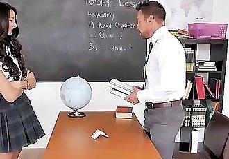 Horny School Slut Eliza Ibarra Fucks Teacher In Detention 7 min HD