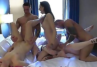 Redhead 18 Year Old Rori Rose Gets Fucked by The Baltimore Crew 2 min 1080p