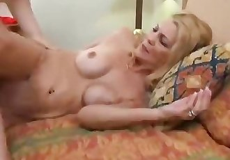 Super hot slim mom and boy