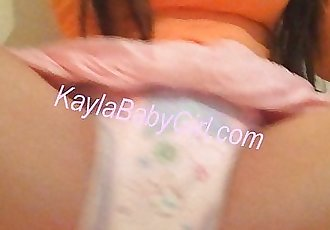 Teen Diaper Girl - 45 sec
