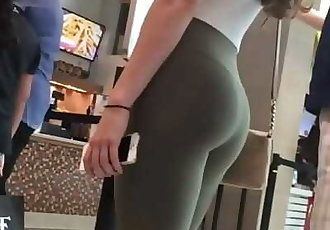 Candid Teen Butts in Leggings CompPart 3 13 min