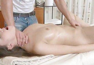 RubATeen Young Russian cutie massage parlor sexHD