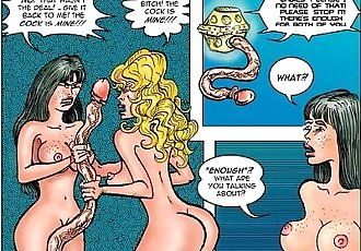 2D Comic: Pleasure Bot - 8 min