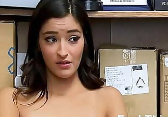Repeating Thief Caught again But This Time She has To Suck Dick Emily Willis 8 min 720p