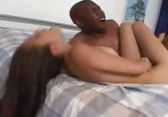 Stunning Ice gets her tight pussy ripped