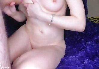 Fucked his girlfriend. Creampie pussy. HD