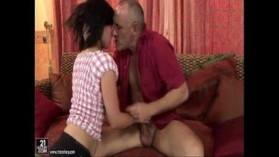 Young Slut Fucks An Older Guy