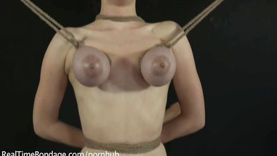 Iona Grace and her Massive Natural Tits Suffer Exquisitely