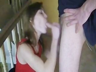 husband let friend fuck his wife in hall and he tape it