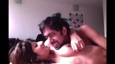 nri indian couple having sex early morning (hindi talk)