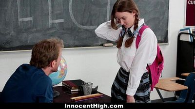 InnocentHighShy Schoolgirl Fucks Her Speech TeacherHD
