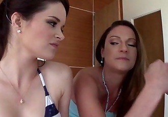 Jenna J. Ross shares cock with stepmom Samantha Ryan
