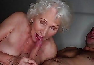 Be quiet, my husbands sleeping!Best granny porn ever! 6 min 1080p