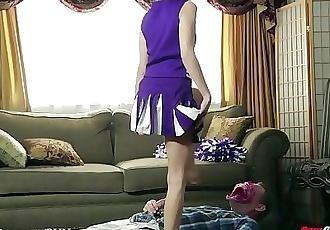 New Sensations - Riley Reid Cheerleader Fucks Her Step-Dad